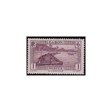 Gabon N° 125 N **