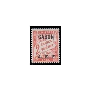 Gabon N° TA 10 N **