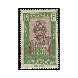 Gabon N° TA 14 N **