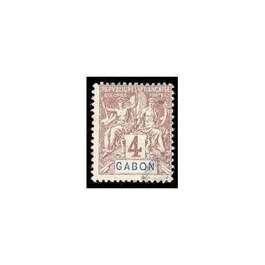 Gabon N° 018 N *