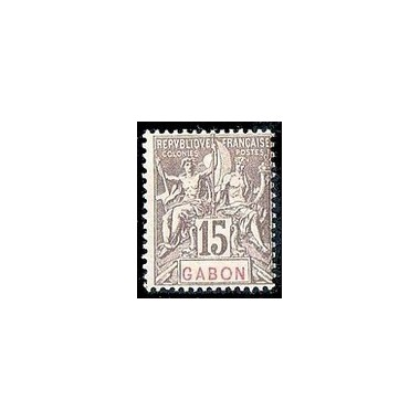 Gabon N° 021 N *