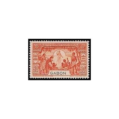 Gabon N° 123 N *