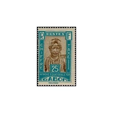 Gabon N° TA 15 N *