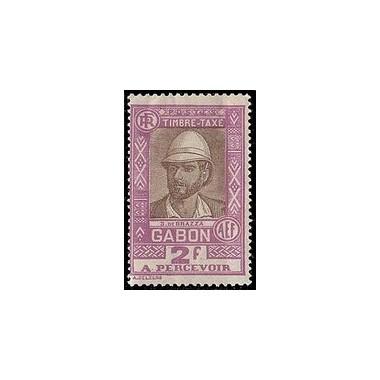 Gabon N° TA 21 N *
