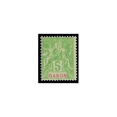 Gabon N° 019 Obli