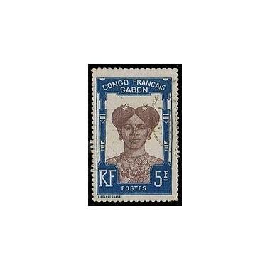 Gabon N° 048 Obli
