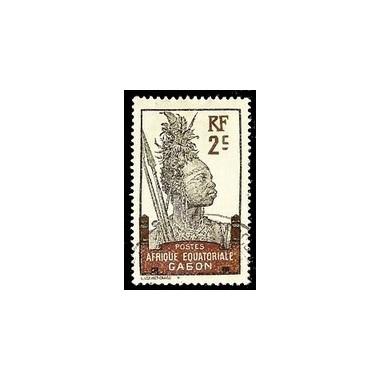 Gabon N° 050 Obli