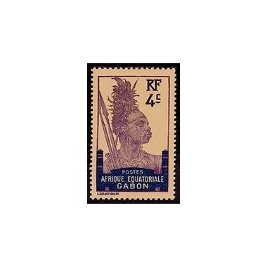 Gabon N° 051 Obli