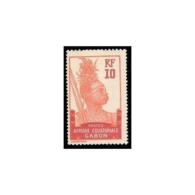 Gabon N° 053 Obli