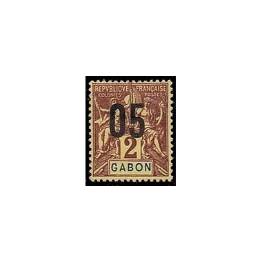 Gabon N° 066 Obli