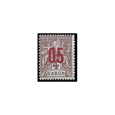 Gabon N° 067 Obli