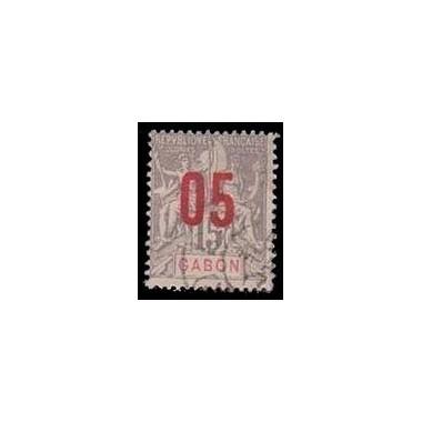 Gabon N° 068 Obli