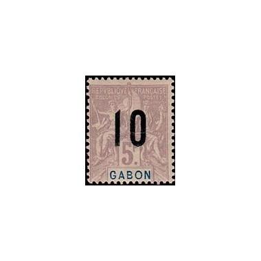 Gabon N° 078 Obli