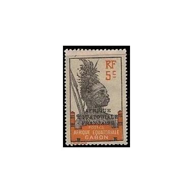 Gabon N° 091 Obli