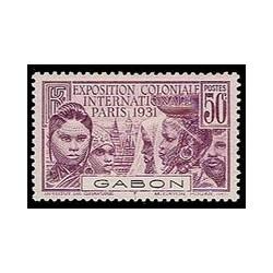 Gabon N° 122 Obli