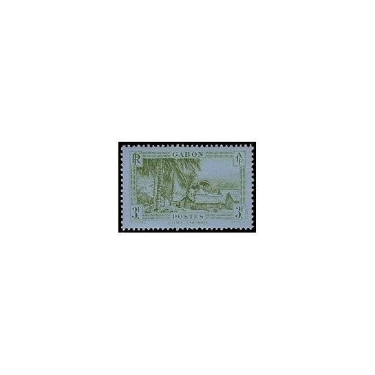 Gabon N° 143 Obli