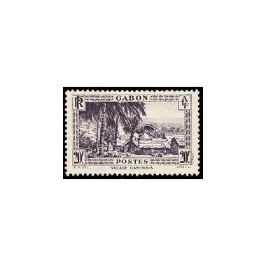 Gabon N° 146 Obli