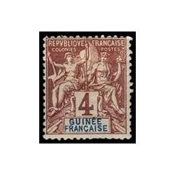 Guinée N° 003 Obli