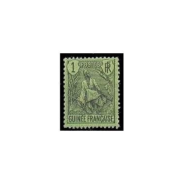 Guinée N° 018 Obli