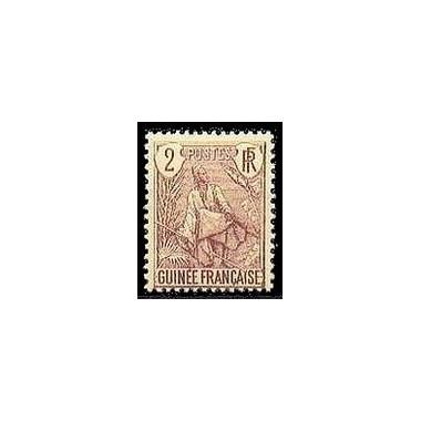 Guinée N° 019 Obli