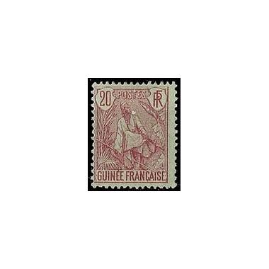 Guinée N° 024 Obli