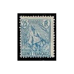 Guinée N° 025 Obli