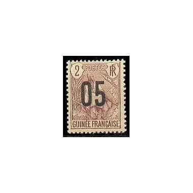 Guinée N° 055 Obli