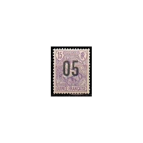 Guinée N° 057 Obli