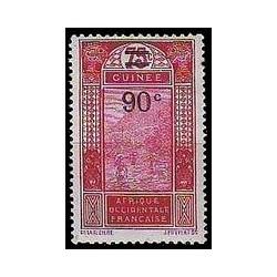 Guinée N° 101 Obli