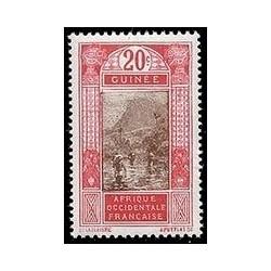 Guinée N° 108 Obli