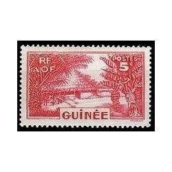 Guinée N° 128 Obli