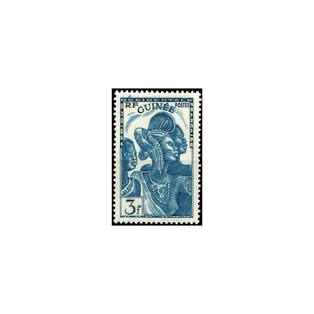 Guinée N° 143 Obli