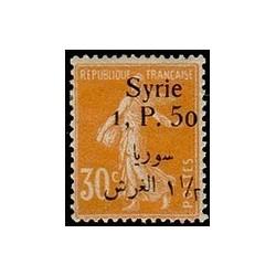 Syrie N° 133 Neuf *