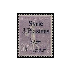 Syrie N° 138 Neuf *