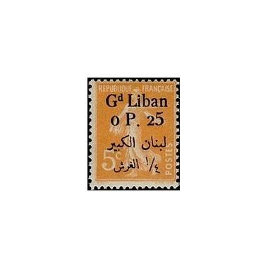 Gd Liban N° 023 N *