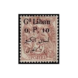 Gd Liban N° 022 Obli