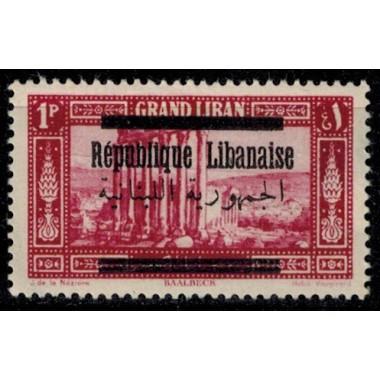 Gd Liban N° 100 Obli