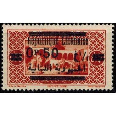 Gd Liban N° 117 Obli