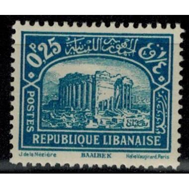 Gd Liban N° 130 Obli