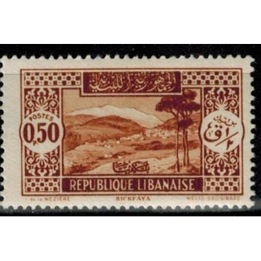 Gd Liban N° 131 Obli