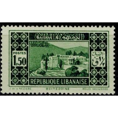 Gd Liban N° 136 Obli