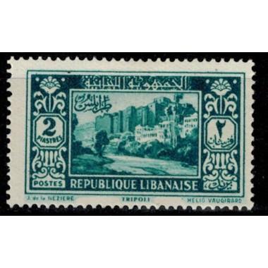 Gd Liban N° 137 Obli