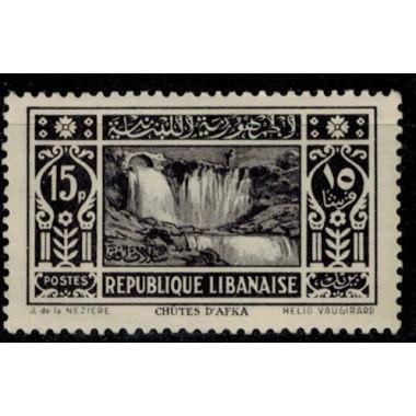 Gd Liban N° 145 Obli