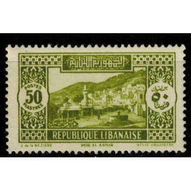 Gd Liban N° 147 Obli
