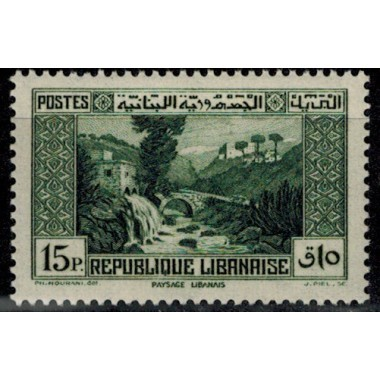 Gd Liban N° 156 Obli