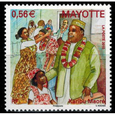 Mayotte N° 232 Neuf **