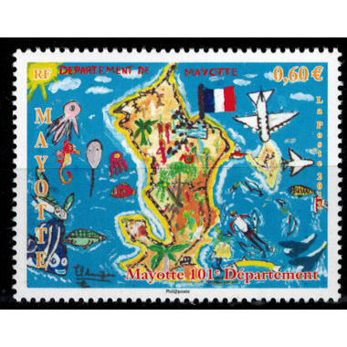 Mayotte N° 259 Neuf **