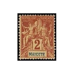 Mayotte N° 002 Obli