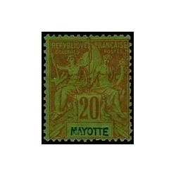 Mayotte N° 007 Obli