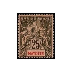 Mayotte N° 008 Obli